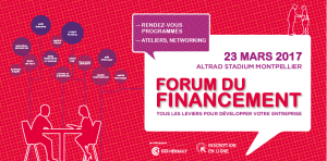 Logo forum financement